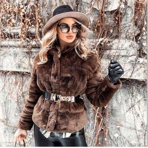 Faux Fur  Size XS NWT